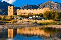 Frangokastello fortress in Crete. Greece Royalty Free Stock Photo