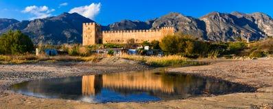 Frangokastello fortress in Crete. Landmarks of Greece Stock Images