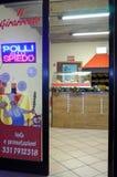 Frangos assados da loja Fotografia de Stock