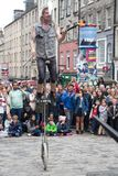 """Franja 3†del festival de Edimburgo """"27 de agosto de 2018 Extensión, diversa y apenas un poco loca imágenes de archivo libres de regalías"""
