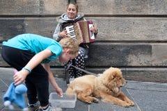"""Franja 3†del festival de Edimburgo """"27 de agosto de 2018 Extensión, diversa y apenas un poco loca foto de archivo libre de regalías"""