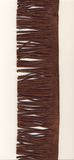 Franja da camurça de Brown Fotografia de Stock Royalty Free