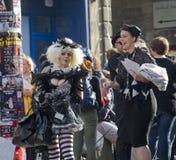 Franja del festival de Edimburgo Fotos de archivo