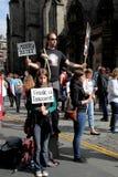 Franja 2014 del festival de Edimburgo Imagen de archivo libre de regalías