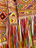 Franjas coloridas - parte do ofício feito a mão bonito Imagens de Stock Royalty Free