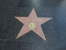 Frank Borzage-ster in hollywood Stock Foto