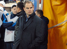 Frank de Boer Ajax Amsterdam's coach Stock Photography
