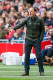 Frank de Boer, treinador de Ajax Foto de Stock