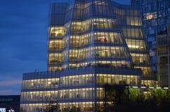 Frank Gehry navega el edificio Fotografía de archivo