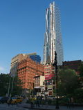 Frank Gehry new tower at 8 Spurce St New York Stock Photos
