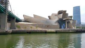 Frank Gerry Museum van Moderne Kunsten, Bilbao, Spanje Stock Fotografie