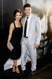 Frank Grillo and Wendy Moniz Royalty Free Stock Images