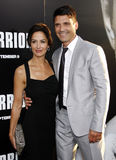 Frank Grillo and Wendy Moniz Stock Image