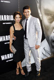 Frank Grillo and Wendy Moniz Stock Photos