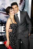 Frank Grillo and Wendy Moniz Royalty Free Stock Image
