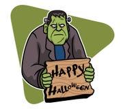 Frank Halloween. A vector illustration for Halloween day theme Stock Photo