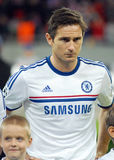 Frank Lampard of Chelsea. Chelsea's Frank Lampard pictured before the UEFA Champions League group E game between Steaua Bucharest and Chelsea FC, on National Stock Photo