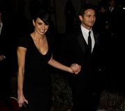 Frank Lampard, Christine Bleakley. Frank Lampard and Christine Bleakley arriving for The Sun Military Awards 2011 at the Imperial war Museum, London. 19/12/2011 Stock Photo