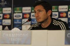 Frank Lampard di Chelsea - conferenza stampa Fotografia Stock