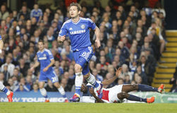 FRANK LAMPARD joueur FC CHELSEA Obrazy Stock