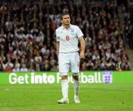 Frank Lampard no passo Fotografia de Stock Royalty Free