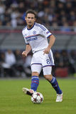 Frank Lampard. Player of Chelsea London pictured during the Uefa Champions League game between his team and Steaua Bucharest (Romania). Chelsea won the match Stock Images