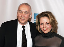Frank Langella and Renee Fleming. Theater and film actor Frank Langella and opera diva Renee Fleming arrive on the red carpet for the premiere of United 93 at Stock Photos