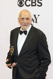 Frank Langella Takes Home 5th Tony Award Fotografering för Bildbyråer