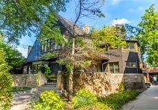 Frank Lloyd Wright Home e estúdio Foto de Stock