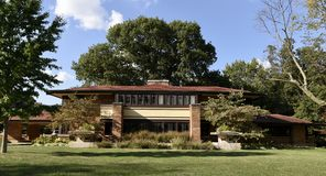 Frank Lloyd Wright i Decatur Royaltyfri Bild