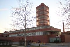 Frank Lloyd Wright Research Tower, S C Empresa de Johnson, Racine Wisconsin imagem de stock royalty free