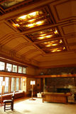 Frank Lloyd Wright Room Royalty Free Stock Photography