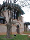 Frank Lloyd Wright ` s Dana Thomas House, Springfield, IL stock afbeeldingen