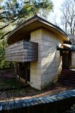 Frank Lloyd Wright Spring House, Tallahassee Florida Royalty-vrije Stock Foto's