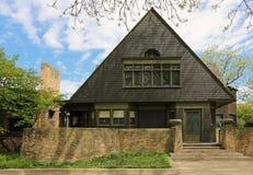 Frank- Lloyd Wrighthaus u. Studio Stockbilder