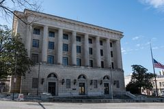 Frank M. Johnson Jr. Federal Building. Montgomery, Alabama, USA - January 20, 2018: The Frank M. Johnson Jr. Federal Building also known as United States Post Stock Image