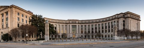 Frank M. Johnson Jr. Federal Building royalty free stock photography