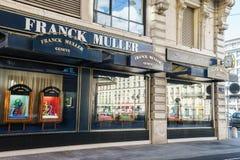 Frank Muller boutique Stock Photos
