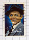Frank Sinatra Imagens de Stock