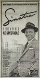 Frank Sinatra newspaper add Stock Images