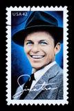 Frank Sinatra Postage Stamp imágenes de archivo libres de regalías