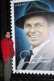 Frank Sinatra, Tina Sinatra. Tina Sinatra at the unveiling ceremony for the new United States Postal Service Stamp Honoring Frank Sinatra. Beverly Hilton Hotel Stock Photos
