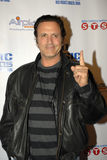 Frank Stallone on the red carpet. Frank Stallone appearing on the red carpet royalty free stock photography