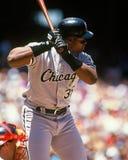 Frank Thomas Chicago White Sox Στοκ φωτογραφία με δικαίωμα ελεύθερης χρήσης