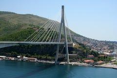 Frank Tudman's Bridge. In Dubrovnik (Croatia Royalty Free Stock Photography
