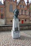 Frank Van Acker-Monument in Brügge Lizenzfreie Stockbilder