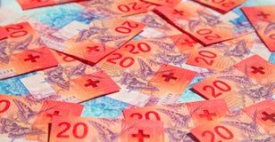 frank?w szwajcarskich zdjęcie royalty free