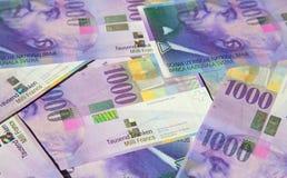 frank?w szwajcarskich zdjęcie stock