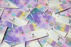 frank?w szwajcarskich fotografia stock