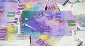 frank?w szwajcarskich obrazy stock